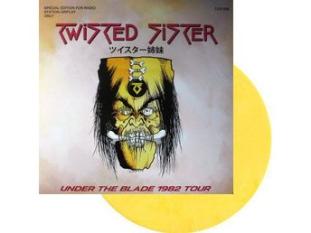 Twisted Sister -Marquee Club London 82 lp yellow Dee Snider