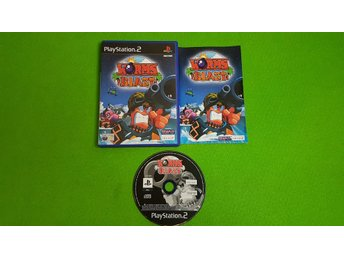 Worms Blast PS2 Playstation 2
