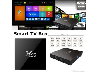 X96 Android 7.1 TV Box 1GB 8GB WIFI IPTV KODI AIRPLAY DLNA likt Apple TV