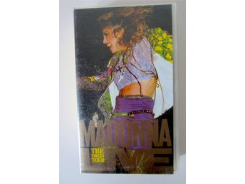 Madonna Live - The Virgin Tour, VHS, 1985, Vintage 80-tal