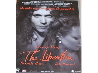 2st DVD JOHNNY DEPP-The Libertine+Once Upon A Time In Mexico-Drama+Action