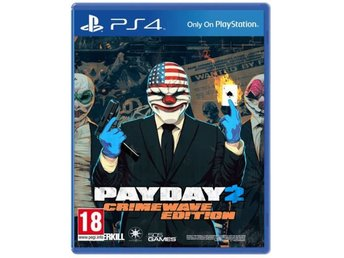 "PS4-spel ""Payday - Crimewave Edition"""