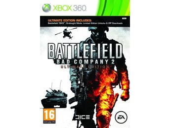 Battlefield: Bad Company 2 - Ultimate Edition  - XBOX 360  spel  - ny inplastad