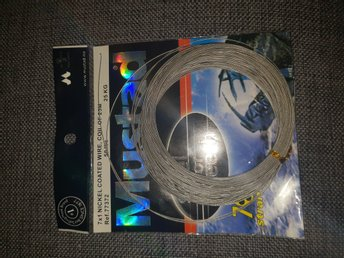 Mustad nickel coated wire 25m .Klarar up till 25 kg .