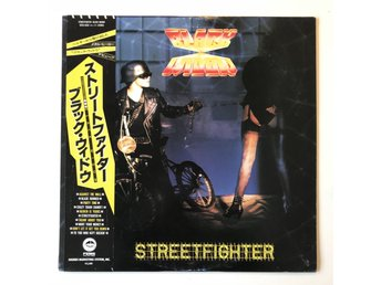 Black Widow - Streetfighter /// japan obi vinyl lp (1985)