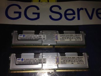IBM 8GB (2x4GB) Kit PC5300 FB-Dimm för tex HS21 x3550 x3650