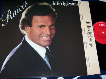 JULIO IGLESIAS - RAICES LP 1989