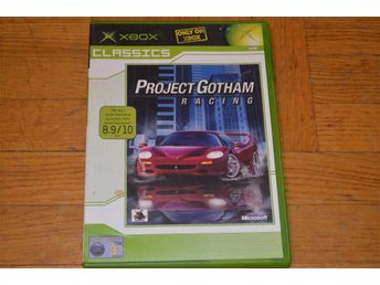 Project Gotham Racing Xbox - Töre - Project Gotham Racing Xbox - Töre