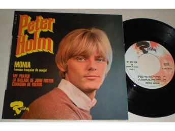Peter Holm EP/PS Monia (French Version) 1968 VG - Farsta - Peter Holm EP/PS Monia (French Version) 1968 VG - Farsta