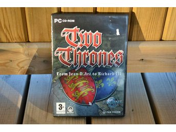 Two Thrones (From Jean D' Arc to Richard III) PC Paradox (2004) Komplett Nyskick
