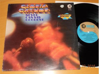 GLORIA GAYNOR - Never can say goodbye, LP MGM Italien 1975