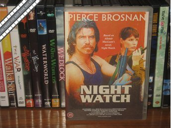 NIGHT WATCH - Pierce Brosnan, Alexandra Paul *UTGÅNGEN DVD* - Svensk text - åmål - NIGHT WATCH - Pierce Brosnan, Alexandra Paul *UTGÅNGEN DVD* - Svensk text - åmål