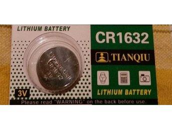 1st Knappcellsbatteri CR1632 - Ystad - 1st Knappcellsbatteri CR1632 - Ystad