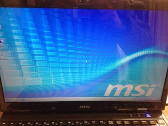 Spel,Gaming laptop  MSI  CX620 , i5