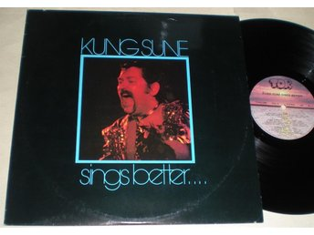 Kung Sune LP Sings Better 1979 VG++