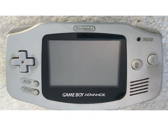 gameboy advance silver
