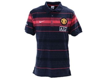 NY MANCHESTER UNITED NIKE ANTHEM POLO PIKETRÖJA NIKE-FIT RED DEVILS STORLK SMALL