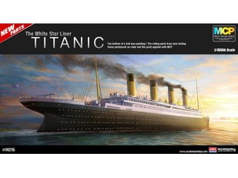 Academy 1/400 Titanic The White Star Liner - Lund - Academy 1/400 Titanic The White Star Liner - Lund