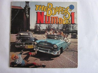 The Boppers -Number 1 lp Keep on boppin T-bone rec 1978