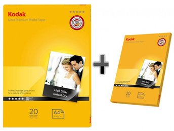 Fotopapper 20st A4 + 20st 13x18 280g Glossy