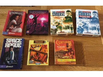 Centurion, Wings, Perfect General mfl bigbox Amiga