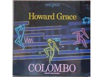 "Howard Grace title* Colombo* Synth-pop, Disco  Germany 12"", Maxi"