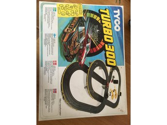 Tyco Turbo 300 with Turbo Boost Power Slot Car 1984