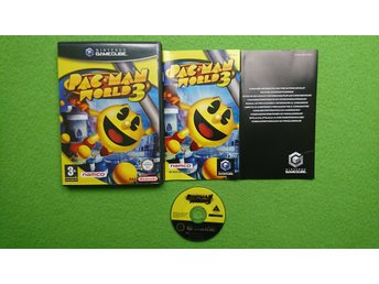 Pac Man World 3 KOMPLETT Gamecube Nintendo Game Cube