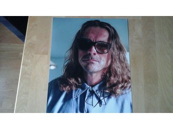 Sons of anarchy autograf Kurt sutter +coa
