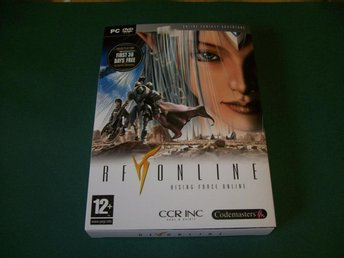 RF  ( RISING FORCE ) ONLINE HELT NYTT PC DVD-ROM