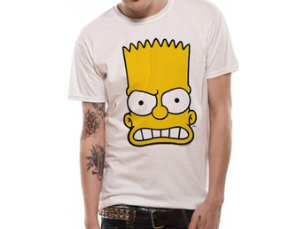 THE SIMPSONS - BART FACE  (UNISEX) - Large