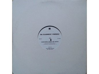 "Da Slammin' Phrogz title* Something About The Music* House 12"", Promo"