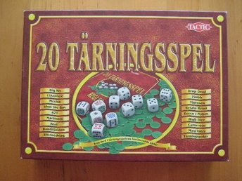 20 TÄRNINGSSPEL - TACTIC