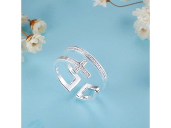 HELT NYTT!! RING New Fashion 925 silver Jewelry Ring