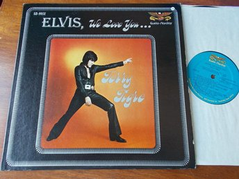TERRY TIGRE - Elvis, we love you.. LP Gusto-Starday USA 1977