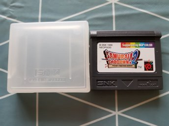 Samurai Shodown 2 ( neo geo pocket color )