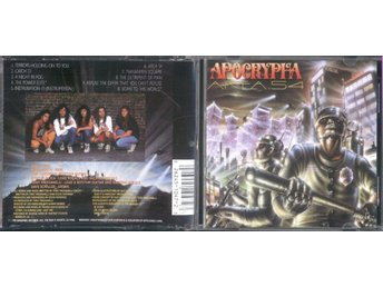 APOCRYPHA - AREA 54 (CD ALBUM 1990)