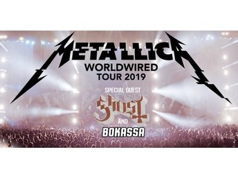 Metallica :  WorldWired Tour - Ullevi 2019-07-09 Golden Circle 4 biljetter!