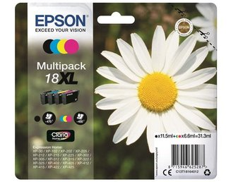 Epson C13T18164012 Multipack 18XL Claria Home Ink
