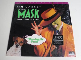 THE MASK (Laserdisc) Jim Carrey