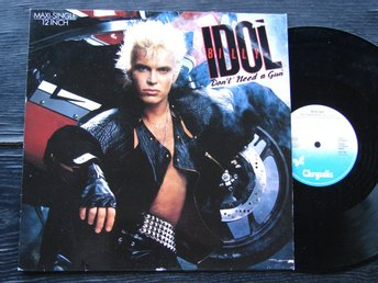 "BILLY IDOL - Dont need a gun 12"" Chrysalis"