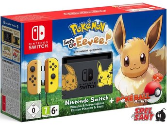 Nintendo Switch Pokemon Lets Go Eevee Limited Edition (Bergsala Version)