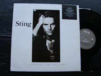 STING - Nothing like the sun A&M  Tyskland -87  DLP