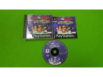 Worms World Party Playstation PSone ps1