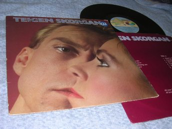 Jahn Teigen Anita Skorgan Cheek To Cheek (LP) EX/VG+