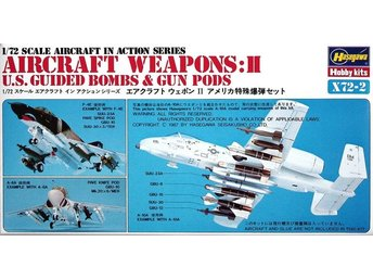 JASDF Aircraft Weapons 1 JASDF Missiles Launcher Set 1-72 by Hasegawa