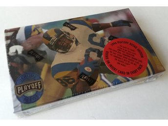1994 Playoff NFL Football Box