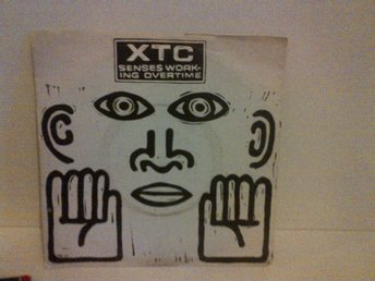 XTC ‎- Senses Working Overtime