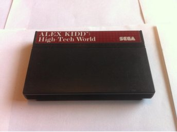 Master System: Alex Kidd: High-Tech World (Enbart kassett)