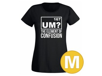 T-shirt The Element Of Confusion Svart Dam tshirt M